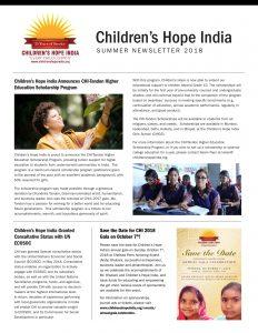 CHI Summer Newsletter