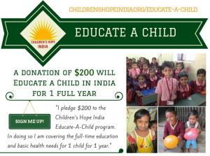 Educate a Child in India