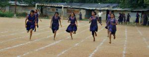 Hyderabad Girls Running
